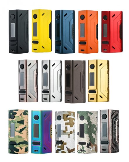 Smoant Battlestar 200W Dual 18650 TCR TC Mod - Click Image to Close